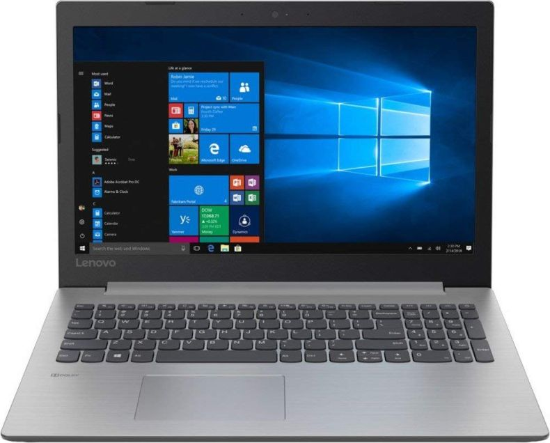 2019 Lenovo IdeaPad 15.6 HD Laptop Notebook Computer, Intel Core N4000 up to 2.60GHz, DVD-RW, Wi-Fi, Bluetooth, USB 3.0, HDMI, Gray, Windows 10, 4GB/8GB DDR4, 1TB/2TB HDD, 128GB/256GB/512GB/1TB SSD