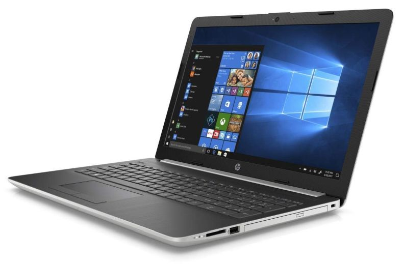 "Newest HP 15 15.6"" HD Touchscreen Premium Laptop - Intel Core i5-7200U, 8GB DDR4, 2TB HDD, DVD+RW, HDMI, Webcam, Wi-Fi AC + Bluetooth 4.2, Gigabit Ethernet RJ-45, Windows 10 - Silver"