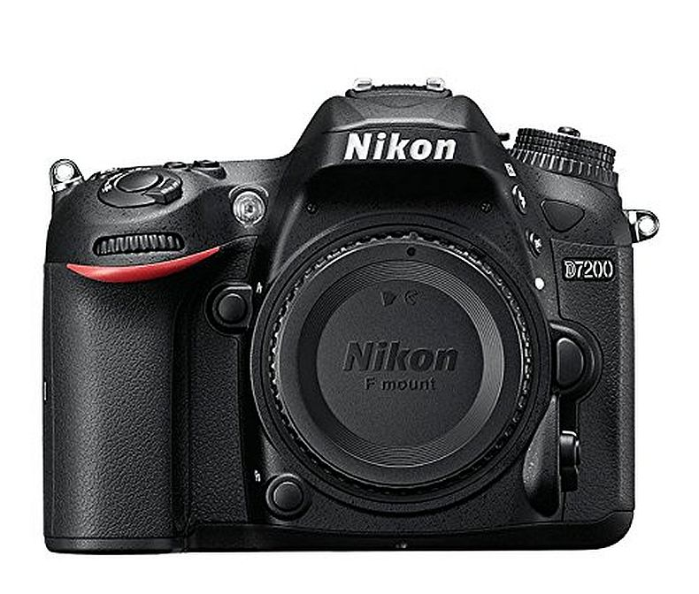 Nikon D7200 DX-format DSLR Body (Black)