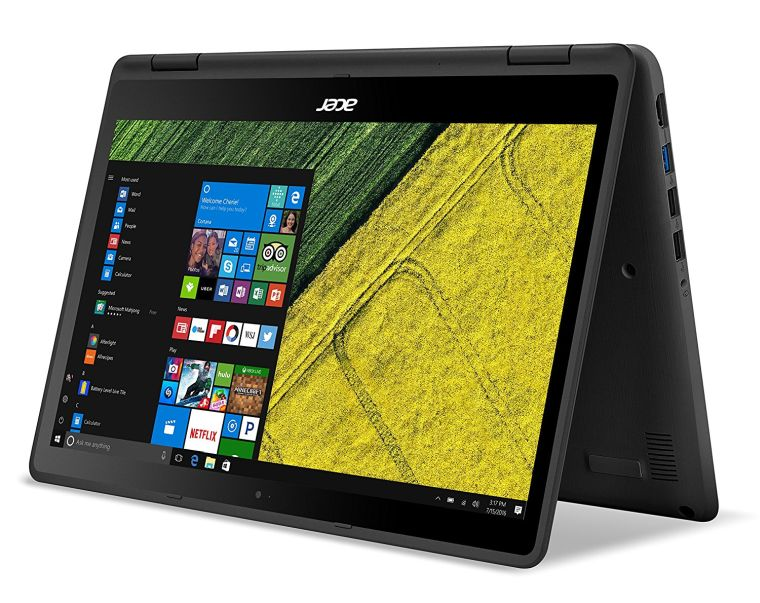 "Acer Spin 5, 13.3"" Full HD Touch, 7th Gen Intel Core i5, 8GB DDR4, 256GB SSD, Windows 10, Convertible, SP513-51-53FC"