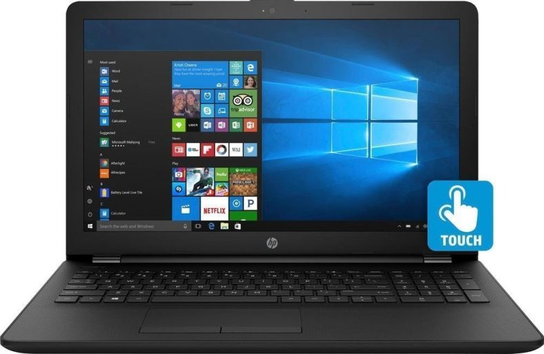 "2018 Newest Premium HP 15.6"" Touchscreen HD Laptop, Intel Dual Core i3-7100U Processor 2.40GHz, 8GB DDR4 RAM, 1TB HDD, HDMI, Bluetooth, Webcam, HD Graphics 620, DVD-RW, 8-Hours Battery, Win 10"