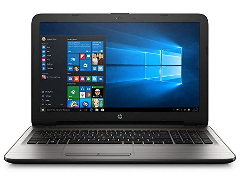 HP 15.6 Inch Flagship Laptop Computer (Intel Core i3-6100U 2.3GHZ, 4GB RAM, 1TB Hard Drive, DVD/CD Drive, Webcam, Wifi, Windows 10 Home) (Certified Refurbished)