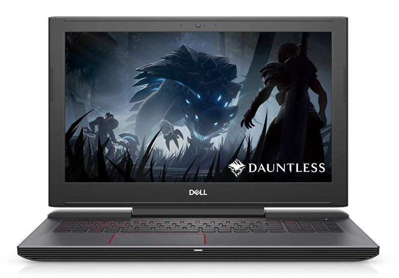 Dell G5 15.6 FHD 2019 Gaming Laptop Notebook, Intel Core i7-8750H to 4.1 GHz, GeForce GTX 1050 Ti 4GB, Wi-Fi, HDMI, Windows 10, Black, 8GB/16GB/32GB RAM, 128GB to 1TB SSD, 1TB/2TB HDD