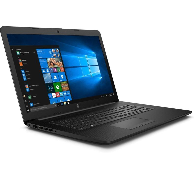 "HP 2019 Newest HP 17 17.3"" HD+ (1600x900) Premium Laptop (Intel Core i5-7200U, 8GB 2400 MHz DDR4, 1TB HDD, DVD+RW, HDMI, Wi-Fi, BlueTooth, Ethernet Gigabit RJ-45, Windows 10 - Black)"