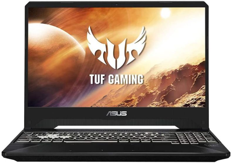 "ASUS TUF 15.6"" FHD LCD Gaming Laptop Computer, AMD Ryzen 5-3550H, 32GB RAM, 1TB PCIe SSD, Backlit Keyboard, GeForce GTX 1650 Graphics, DTS Audio, Webcam, Win 10, Black, 32GB Snow Bell USB Card"