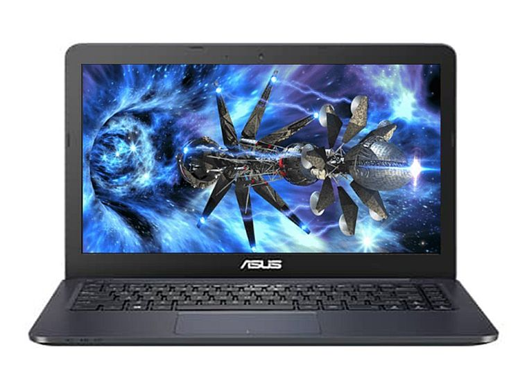 "2017 ASUS Premium High Performance 14"" Full HD 1920x1080 Flagship Laptop Intel Celeron Dual Core-Processor 4GB RAM 32GB HDD HDMI WIFI WEBCAM Windows 10- Blue"