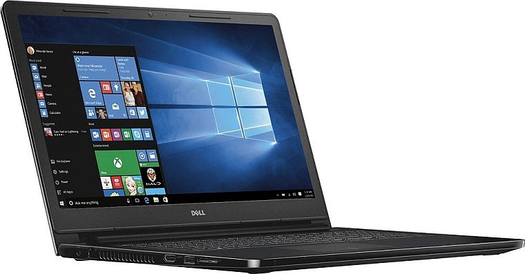 "2016 Dell Inspiron i3558-5500BLK 15.6"" Laptop (Core i3-5015U 2.1Ghz, 4GB Memory, 1TB Hard Drive, Windows 10, Black)"