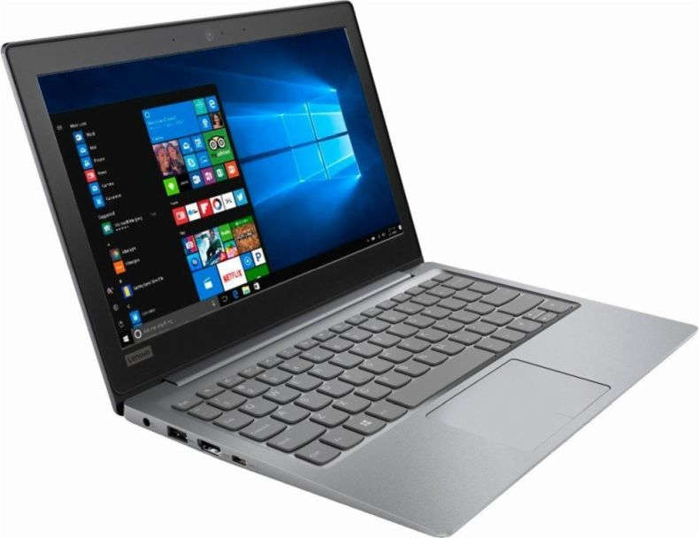 "Lenovo IdeaPad 11.6"" HD 1366x768 LED-backlit laptop (2018 Newest), Intel Celeron N3350 1.1GHz, 2GB RAM, 32GB eMMC, 802.11ac, Bluetooth, USB-C, HDMI, media reader, Webcam, 1-year Office 365, Windows 10"