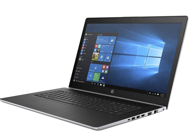 "HP PROBOOK 470 G5 17.3"" Anti-Glare Business Laptop (Intel Quad-Core i7-8550U, NVIDIA 930MX, Type C, HDMI, Windows 10 Pro) Choose 8GB 16GB 32GB DDR4, 128GB 256GB 512GB 1TB M.2 PCIe NVMe or SATA SSD HDD"