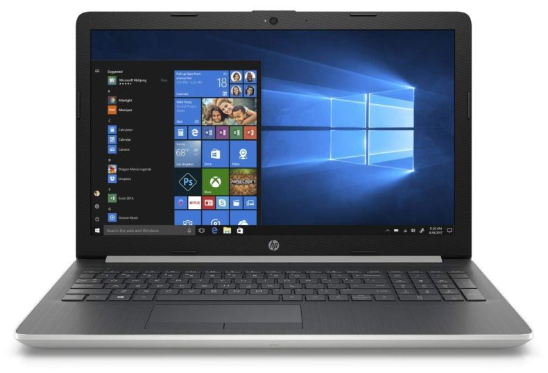 "2019 HP 15.6"" HD WLED-backlit Touchscreen Laptop 