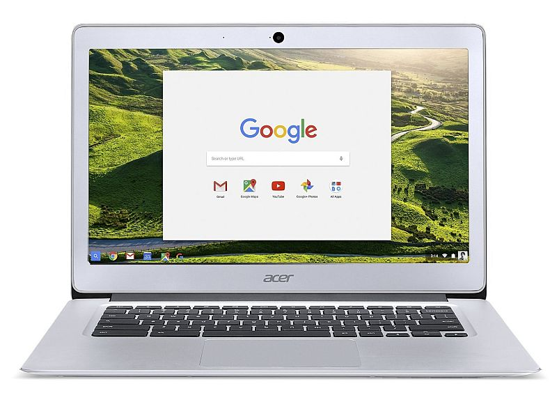 2016 Acer Chromebook 14 with Premium Aluminum Chassis, (14-inch Full HD IPS Display, Intel Quad-Core N3160 up to 2.24GHz, 4GB DDR3, 32GB SSD, 802.11ac, Bluetooth, Chrome OS) (Certified Refurbished)