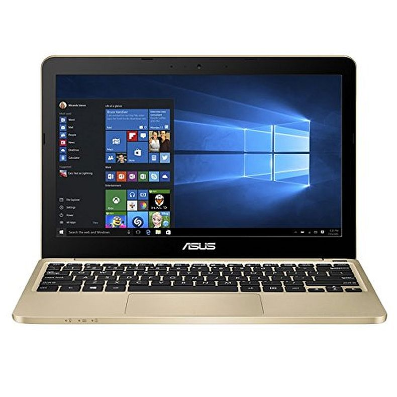 ASUS VivoBook E200HA-US01-GD Portable 11.6 inch Intel Quad Core 2GB RAM 32GB eMMC Laptop with Windows 10, Aurora Gold