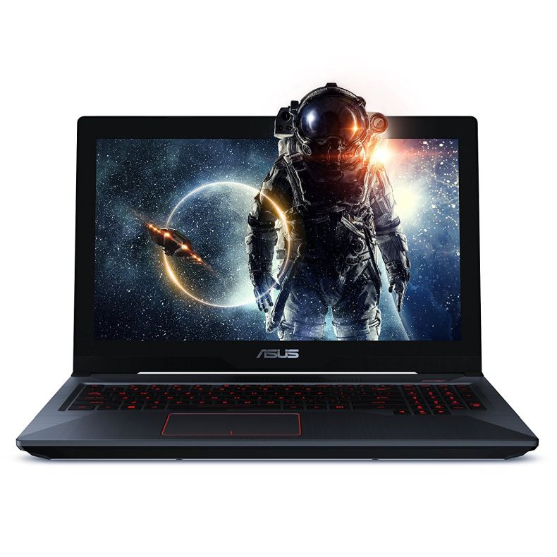 "ASUS FX503VD 15.6"" FHD Powerful Gaming Laptop, Intel Core i7-7700HQ Quad-Core 2.8GHz (Turbo up to 3.8GHz) Processor, 4GB GTX 1050, 128GB SSD + 1TB HDD, 8GB DDR4, Windows 10 Home"