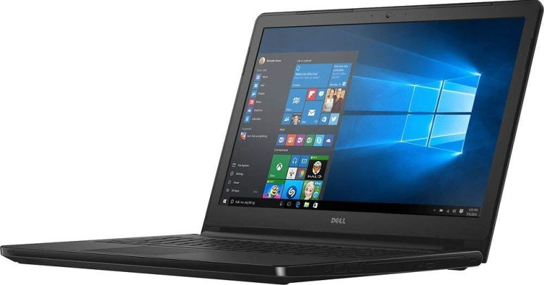 "Dell Business Laptop PC 15.6"" HD LED-backlit Display Intel i3-7100U Processor 8GB DDR4 RAM 1TB HDD HDMI DVD-RW Bluetooth Webcam MaxxAudio Windows 10-Black"