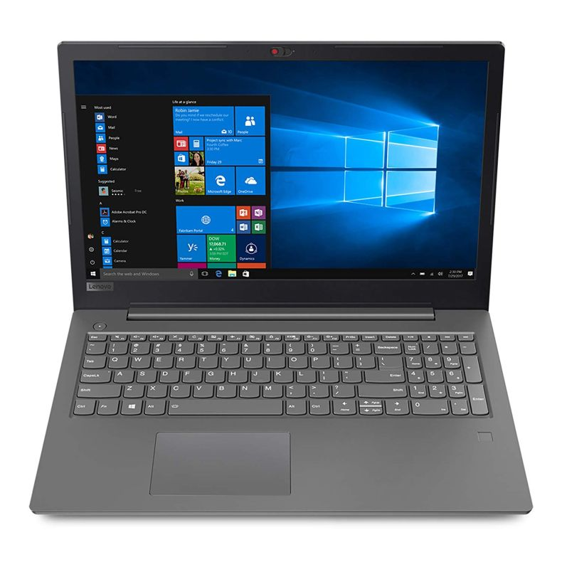 "Lenovo Business 15.6"" FHD (1920x1080) 180° Hinge Display Laptop PC, Intel i5-7200U 2.5Ghz Processor, Backlit Keyboard, Bluetooth, Fingerprint Reader, DVD-RW, Windows 10 Pro, Choose Your RAM SSD HDD"