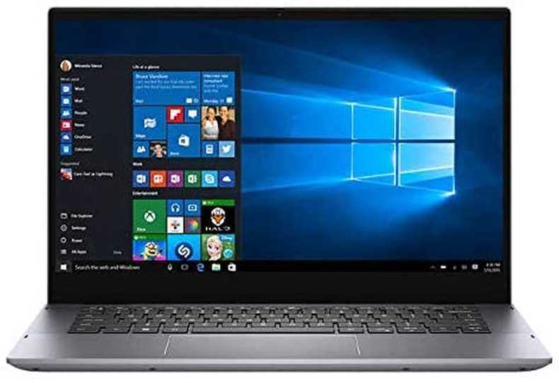 "Click image to open expanded view Dell Inspiron 5000 14"" FHD 2-in-1 Touchscreen Backlit Display Laptop 