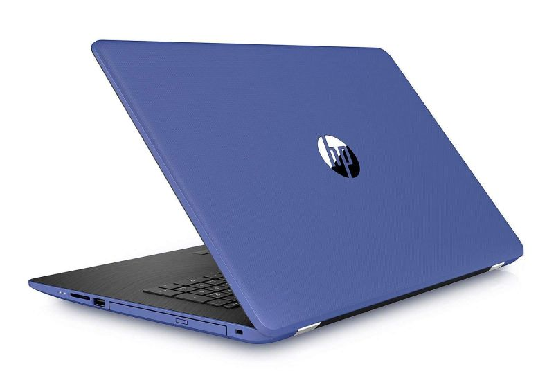 "HP 17.3"" HD+ Notebook (2018 New), Intel Core i3-7100U Processor 2.4 GHz, 8GB Memory, 2TB Hard Drive, Optical Drive, HD Webcam, Backlit Keyboard, Windows 10 Home, Marine Blue"