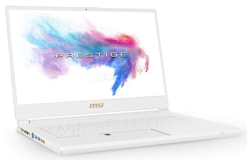 "MSI P65 Creator 8RF-442 Enthusiast (i7-8750H, 32GB RAM, 1TB NVMe SSD, NVIDIA GTX 1070 8GB, 15.6"" Full HD 144Hz 7ms, Windows 10 Pro) Professional Laptop - White Limited Edition"