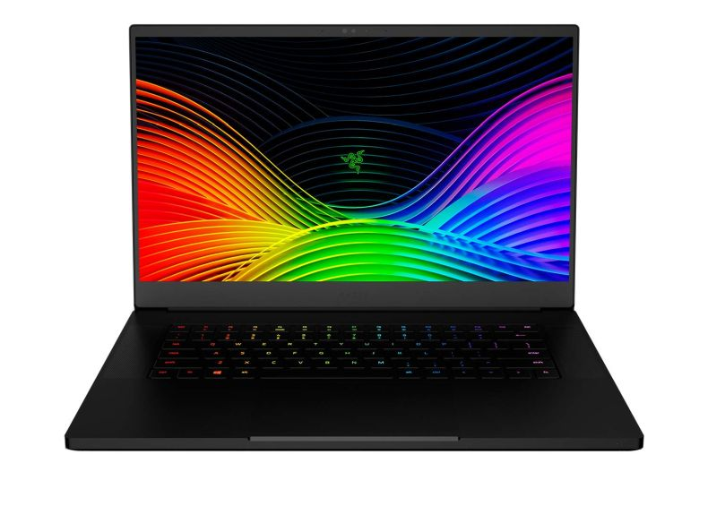 "Razer Blade 15 Gaming Laptop 2019 - Intel Core i7- 9750H 6 Core, GeForce RTX 2080 Max-Q, 15.6"" FHD 1080p 240Hz, 16GB RAM, 512GB SSD, CNC Aluminum, Chroma RGB Lighting, Thunderbolt 3 Compatible"