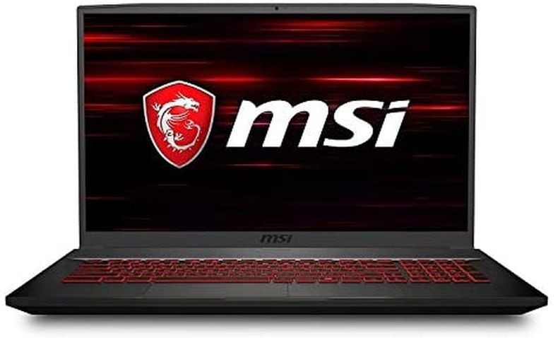 "CUK GF75 Thin by MSI 17 inch Gaming Laptop (Intel Core i7, 64GB RAM, 1TB NVMe SSD + 2TB HDD, NVIDIA GeForce GTX 1660 Ti 6GB, 17.3"" FHD 144Hz 3ms, Windows 10 Home) Gamer Notebook Computer"