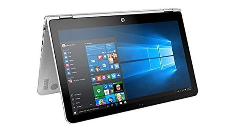"HP X360 15.6"" Full HD Touchscreen 2-in-1 Convertible Laptop PC / Tablet, 7th Gen Intel Core i5-7200U, 8GB DDR3 RAM, 1TB Hard Drive, Bluetooth, Windows 10"