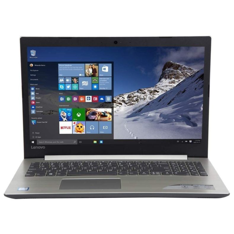 "Lenovo IdeaPad 320 15 15.6"" Laptop Computer - Grey; Intel Core i5-8520U Processor; Windows 10 Home; 8GB DDR4 RAM; 1TB Hard Drive"