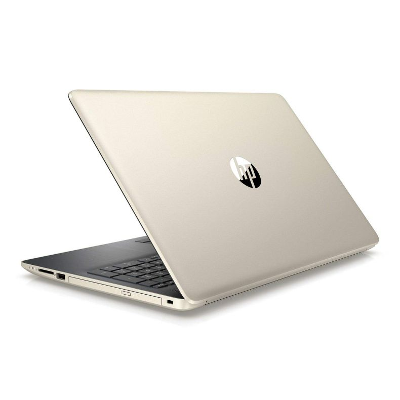 "2019 HP 15.6"" HD Touchscreen Premium Laptop, Intel Quad Core i5-8250U (Beat i7-7500U), 8GB DDR4 RAM, 128GB SSD Boot + 2TB HDD, DVD-RW, Bluetooth, USB 3.1, Backlit Keyboard, Windows 10, Gold"