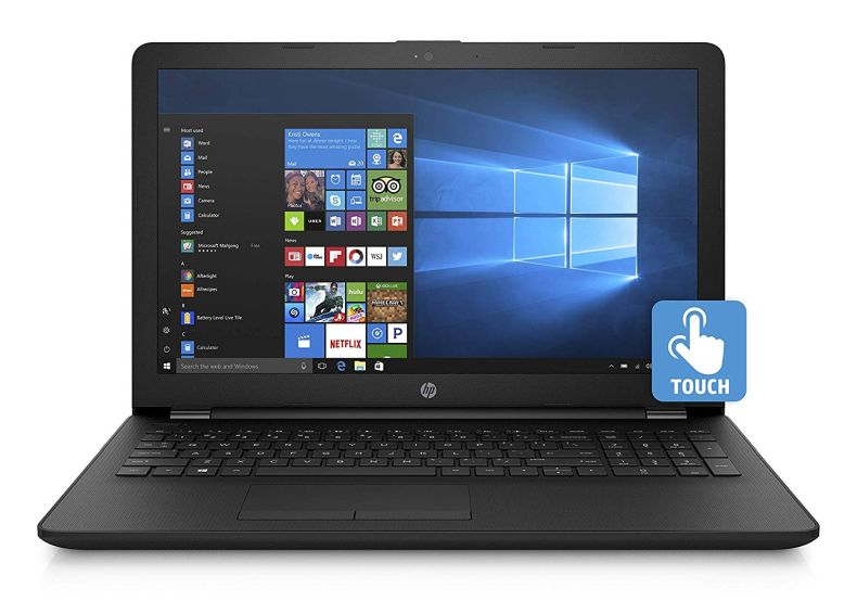 HP 2019 Premium Pavilion 15.6 Inch Touchscreen Laptop (Intel Pentium 4-Core N5000 1.10 GHz, up to 2.70 GHz Turbo, 4GB/8GB/16GB RAM, 128GB to 1TB SSD, 500GB to 2TB HDD, WiFi, Bluetooth, Windows 10)
