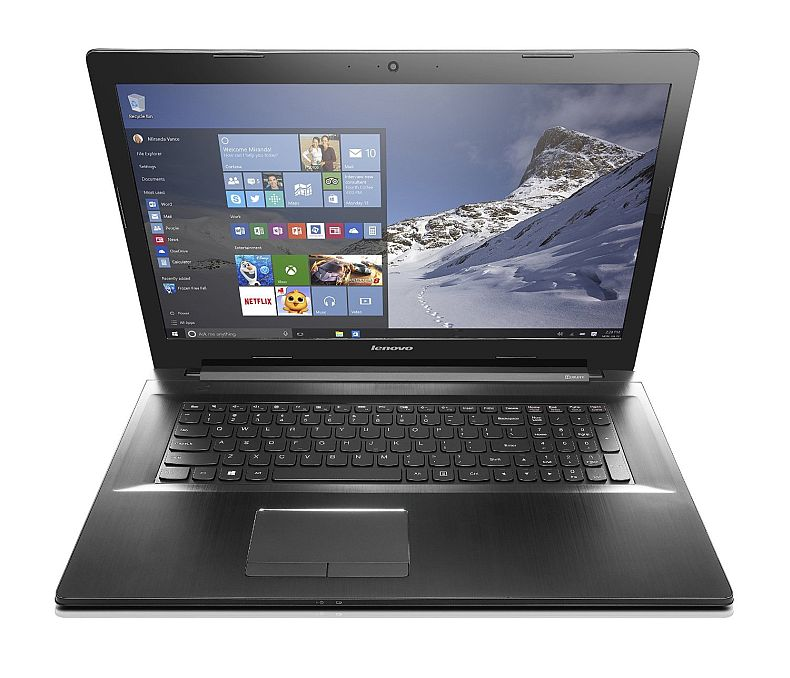 Lenovo Z70 17.3-Inch Laptop (Core i7, 16 GB RAM, 1 TB + 8 GB HDD, Windows 10) 80FG00DCUS