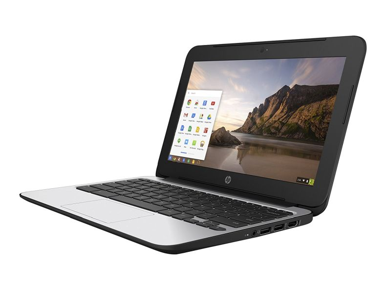 HP ChromeBook 11 G4 EE: 11.6-inch (1366x768) | Intel Celeron N2840 2.16GHz | 16GB eMMC SSD | 4GB RAM | Chrome OS - Black