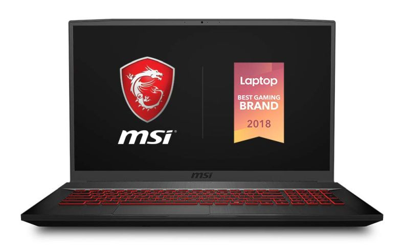 "MSI GF75 Thin 9SC-027 17.3"" Gaming Laptop, Thin Bezel, Intel Core i7-9750H, NVIDIA GeForce GTX1650, 16GB, 512GB NVMe SSD"