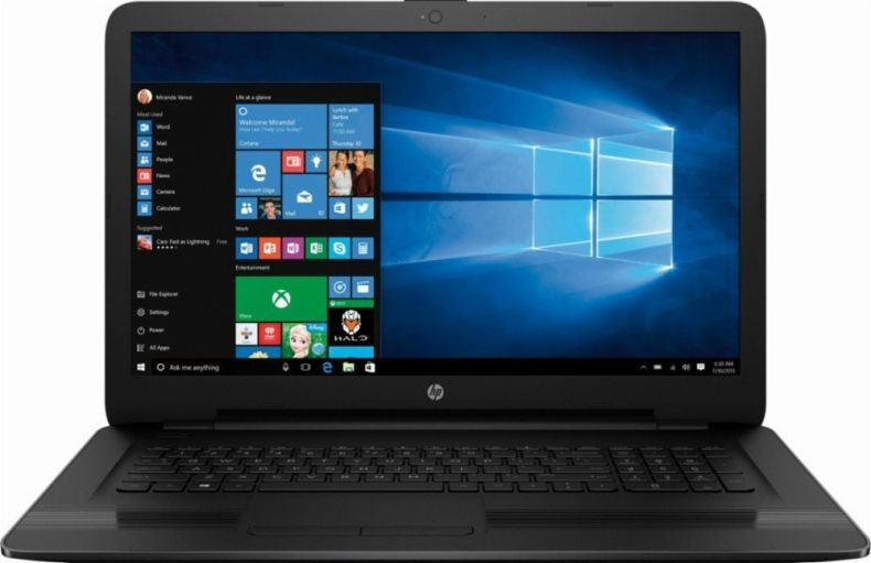 2018 Premium Newest HP 15.6 Inch Flagship Notebook Laptop Computer (AMD Quad-Core E2-7110 APU 1.8GHz, AMD Radeon R2, WiFi, HD Webcam, Super DVD Burner, Windows 10) Choose Your RAM and SSD
