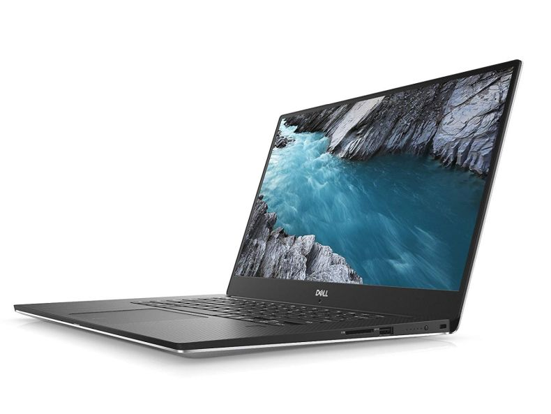 "Dell XPS 9570 Laptop, 15.6"" UHD (3840 x 2160) InfinityEdge Touch Display, 8th Gen Intel Core i7-8750H, 32GB RAM, 1TB SSD, GeForce GTX 1050Ti, Fingerprint Reader, Windows 10 Pro, Silver"