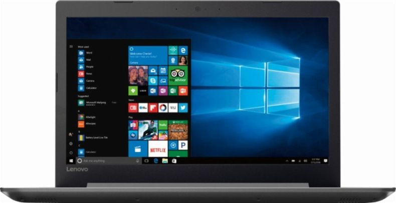 "Lenovo Ideapad 15.6"" HD Premium High Performance Laptop, AMD Quad-core A12-9720P processor 2.7GHz, 8GB DDR4, 1TB HDD, DVD, Webcam, 802.11AC, HDMI, USB Type-C, Bluetooth, Windows 10"