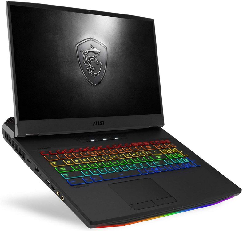 "MSI GT76 Titan DT-006 Essential (i9-9900K, 128GB RAM, 2X 2TB NVMe SSD + 1TB HDD, NVIDIA RTX 2080 8GB, 17.3"" Full HD 144Hz 3ms, Windows 10 Pro) VR Ready Gaming Laptop"
