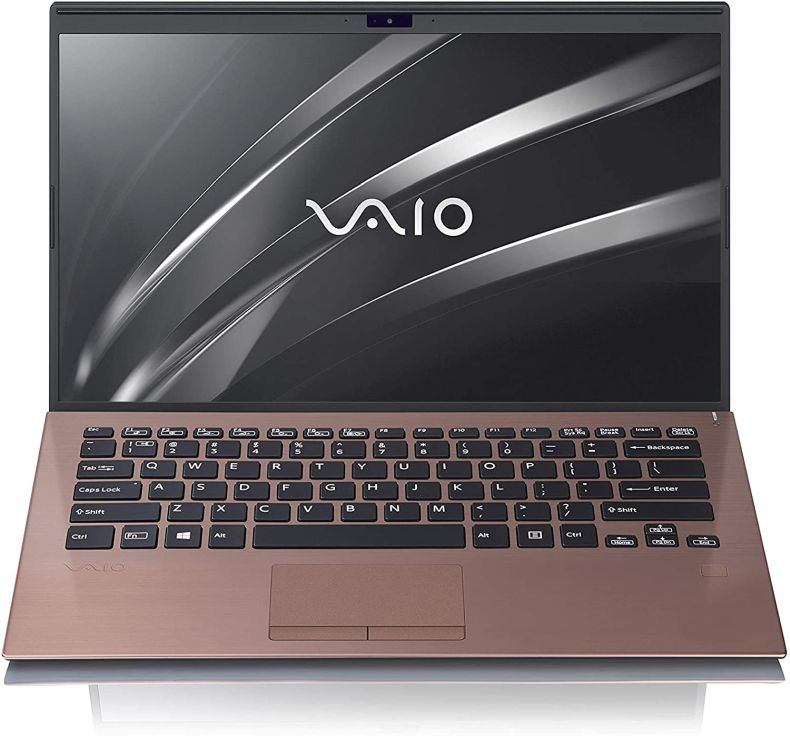 VAIO SX14 - Intel Core i7-8565U Laptop | 16GB Memory (RAM) | 512GB PCIe SSD | Windows 10 Pro | 14.0-Inch Ultra HD 4K (3840x2160) Display | Brown