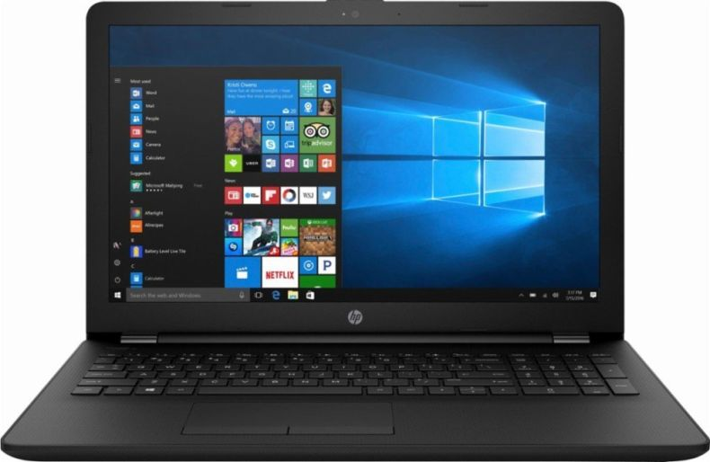 "HP 15.6"" Laptop, AMD A6-9220 Dual-Core Processor 2.50GHz, 4GB RAM, 500GB HDD, AMD Radeon R4 Graphics, DVD-RW, HDMI, Bluetooth, HDMI, Webcam, Windows 10"