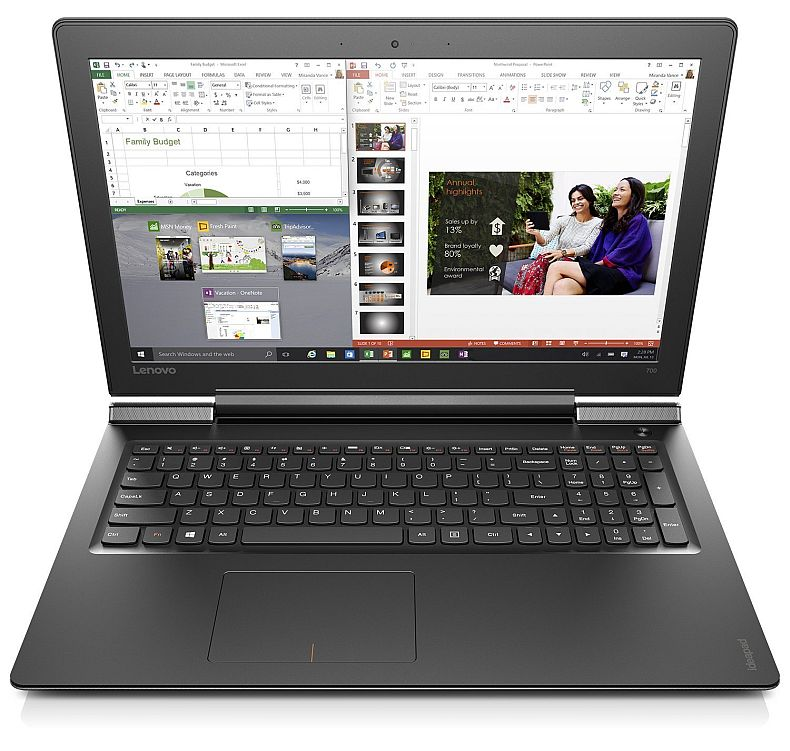 "Lenovo Ideapad 700 - 15.6"" FHD Gaming Laptop (Intel Core i5 6300HQ, 12 GB RAM, 256 GB SSD, NVIDIA GeForce GTX950M, Windows 10) 80RU00FEUS"