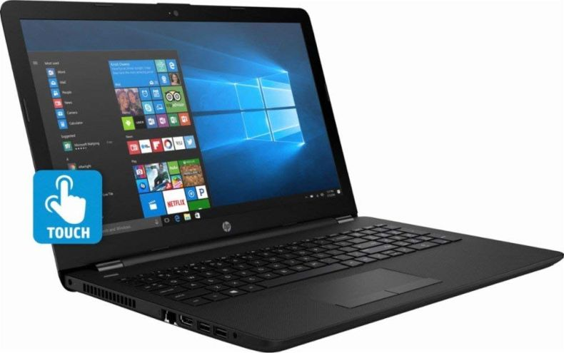 "HP 15.6"" Touch Screen Laptop with Intel Core i3 Processor, 8GB RAM, 1TB Hard Drive, HDMI, USB 3.1, Bluetooth, Windows 10 - Jet black"