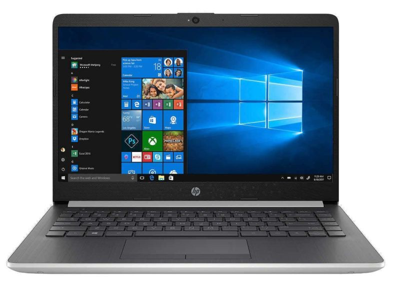 "2019 Flagship HP 14"" Full HD IPS Business Laptop, Intel Dual-Core i3-8130U up to 3.4GHz USB 3.1 Type-C Bluetooth 4.2 802.11ac HD Webcam Backlit Keyboard Win 10 S-up to 16GB DDR4 1TB SSD"