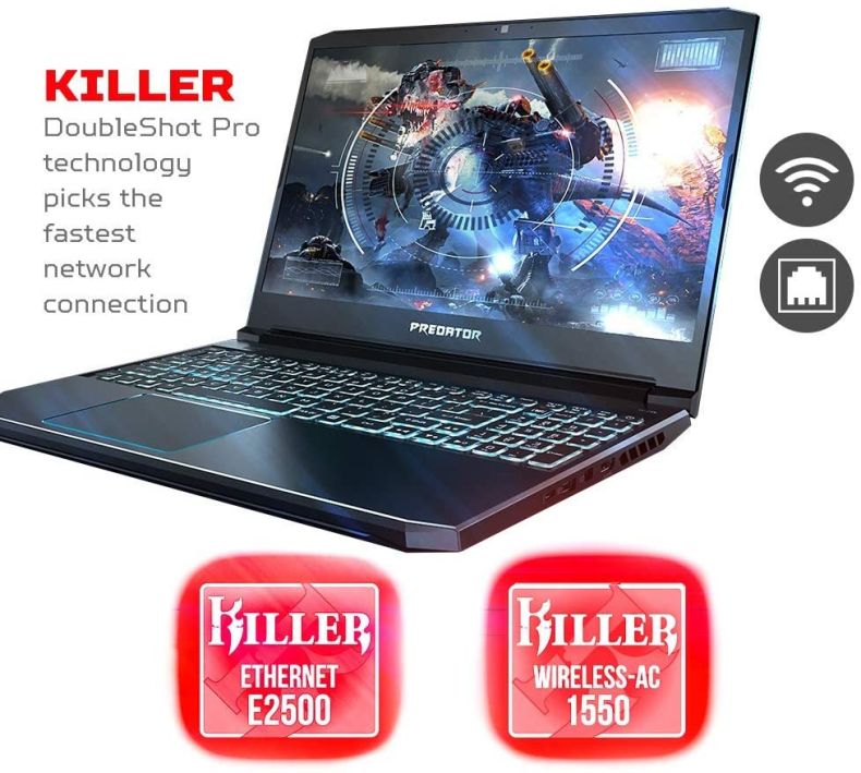 "Acer Predator Helios 15.6"" FHD IPS Display Gaming Laptop 