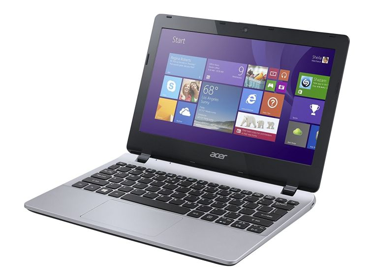 Acer Aspire NX.MQVAA.001 11.6-Inch Laptop (Silver)
