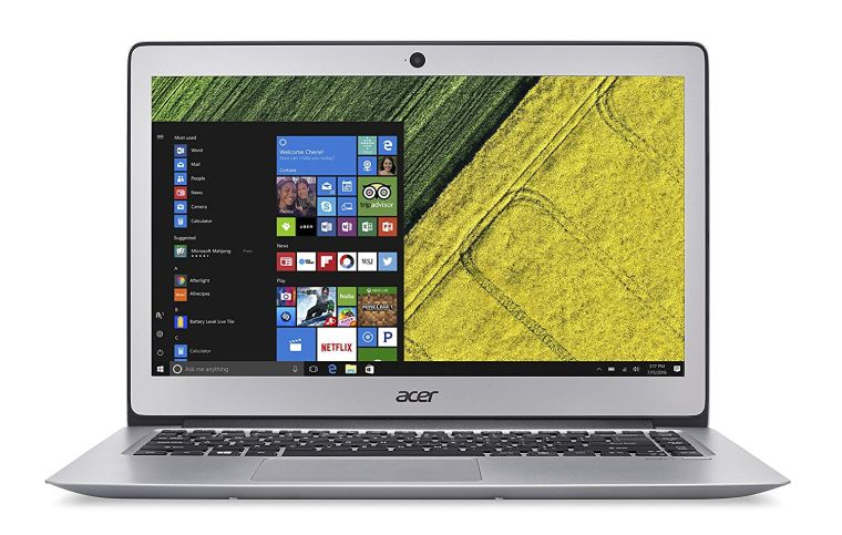 "Acer Swift 3, 14"" Full HD, 7th Gen Intel Core i3-7100U, 4GB DDR4, 128GB SSD, Windows 10, SF314-51-39NE"