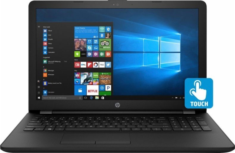 "2018 Newest HP Premium 15.6"" Touchscreen Laptop, 8th Gen Intel Quad-Core i7-8550U up to 4.0GHz, 8GB DDR4 RAM, 1TB HDD, DVD-RW, HD Webcam, HDMI, Bluetooth, Windows 10"
