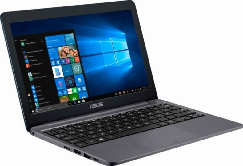 "ASUS Laptop - 11.6"" 1366 x 768 HD Resolution - Intel Celeron N4000 - 2GB Memory - 32GB eMMC Flash Memory - Windows 10 - Star Gray"