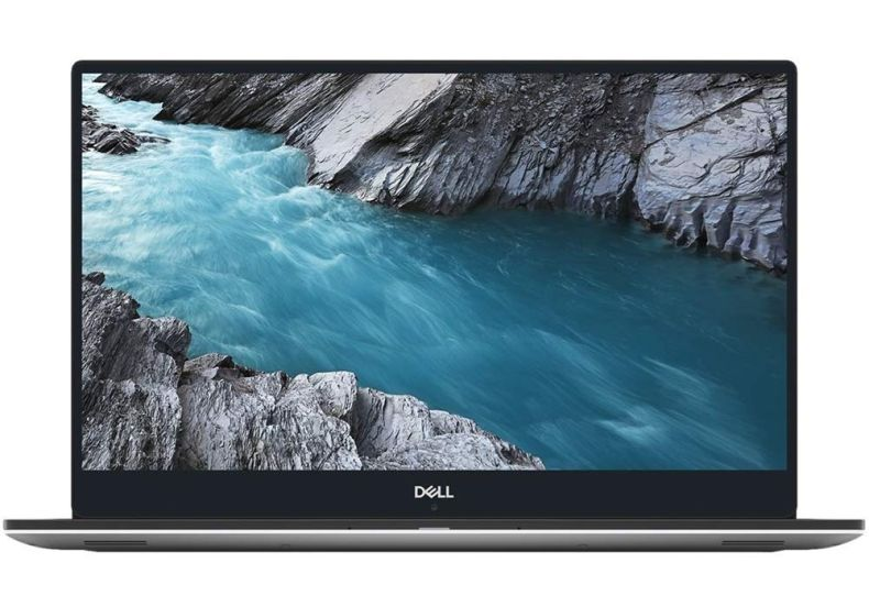 "Dell XPS 9570 15.6"" 4K Ultra HD Touch-Screen Laptop - Intel Core i7 - 32GB Memory - NVIDIA GeForce GTX 1050 Ti - 1TB SSD - Silver"
