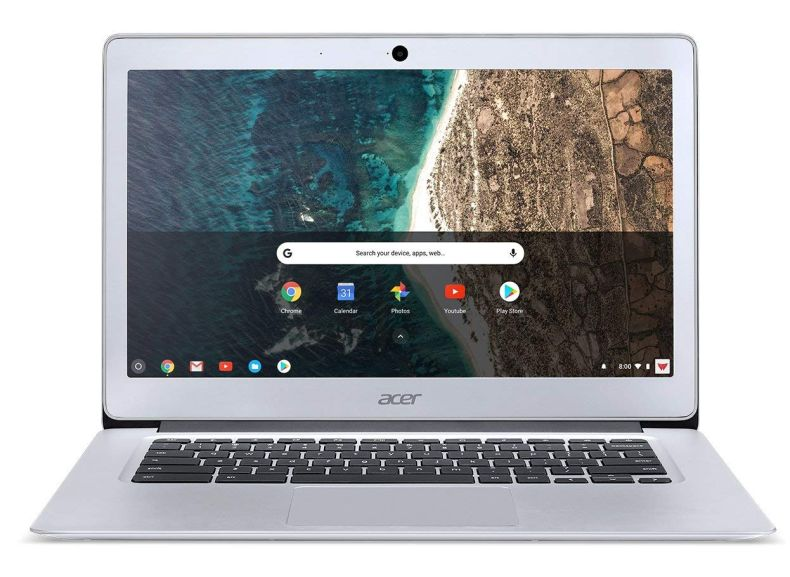 Acer Chromebook 14, Aluminum, 14-inch Full HD, Intel Celeron N3160, 4GB LPDDR3, 32GB, Chrome, CB3-431-C5FM
