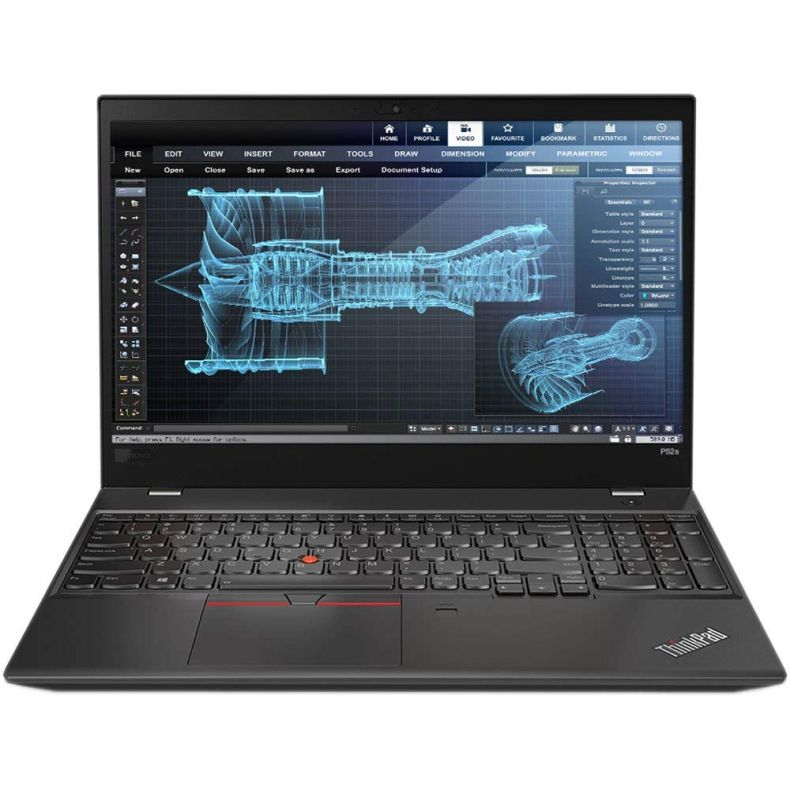 "Lenovo ThinkPad P52s Mobile Workstation Ultrabook Laptop (Intel 8th Gen i7-8550U 4-core, 32GB RAM, 512GB SSD, 15.6"" FHD 1920x1080 IPS, NVIDIA Quadro P500, FingerPrint, Backlit Keyboard, Win 10 Pro)"