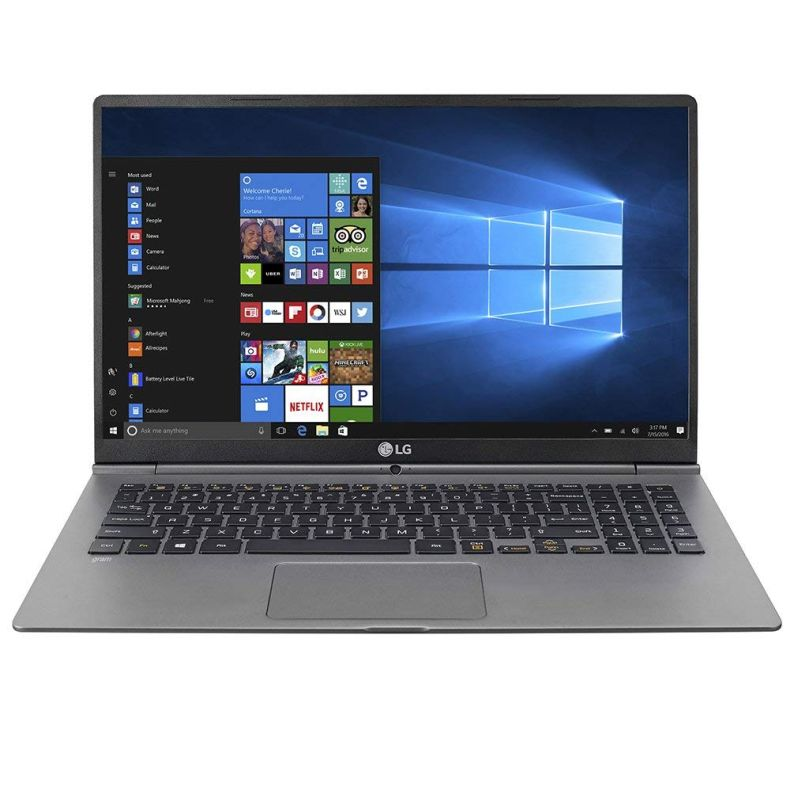 "LG Gram Thin and Light Laptop - 15.6"" Full HD IPS Display, Intel Core i7 (8th Gen), 16GB RAM, 256GB SSD, 2.4lbs, (15Z975-U.AAS7U1)"