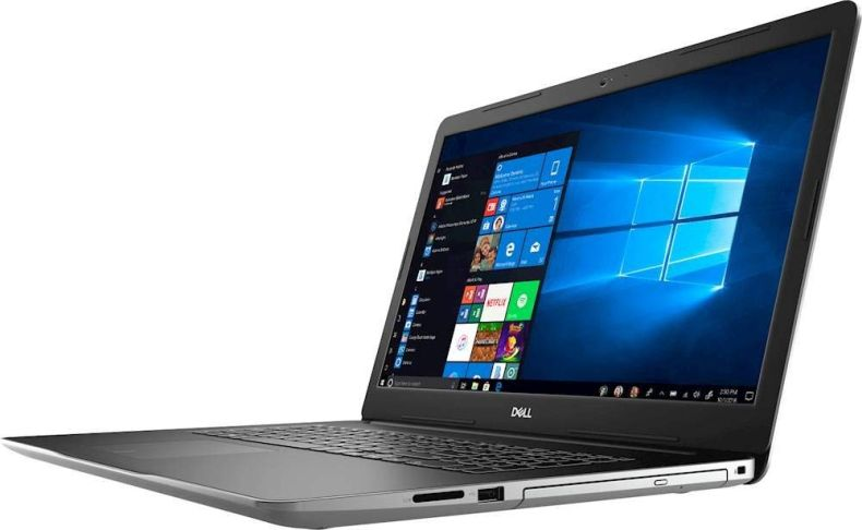 "Dell Inspiron 2020 Premium 17.3"" FHD Laptop Computer, 4-Core Intel i7-1065G7 1.3 GHz, 16GB RAM, 256GB SSD + 2TB HDD, 2GB NVIDIA GeForce MX230, DVD, Webcam, Wi-Fi, HDMI, Windows 10 / 500GB External HDD"